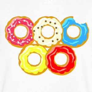 donuts - T-shirt Homme col V