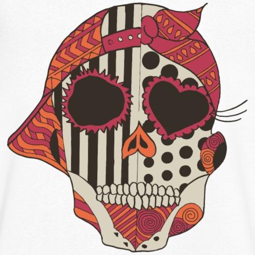 two skulls - Männer Bio-T-Shirt mit V-Ausschnitt von Stanley & Stella