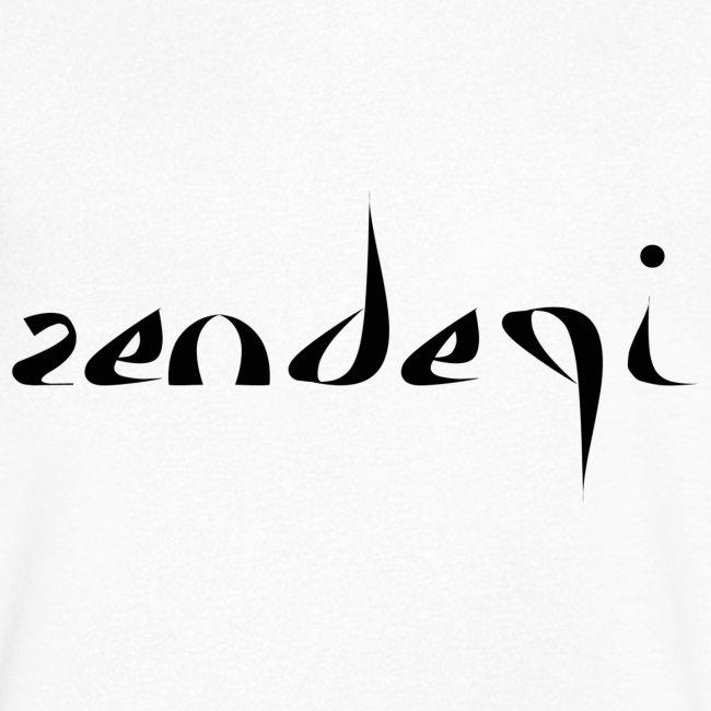 Zendegi (Leben) - Schwarz