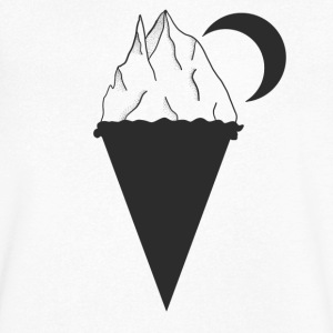ice cream cone - Men's V-Neck T-Shirt