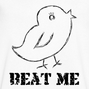 beat me - Men's V-Neck T-Shirt