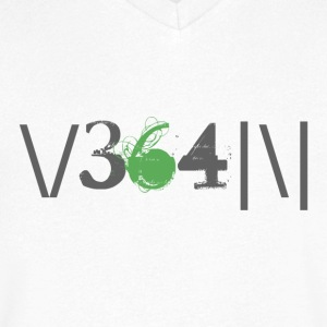 Vegan leet - Men's V-Neck T-Shirt