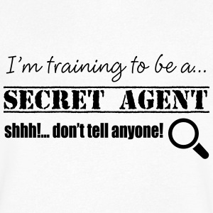 Agent secret - T-shirt Homme col V