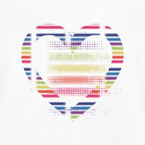 Love - Ekologiczna koszulka męska z dekoltem w serek Stanley & Stella