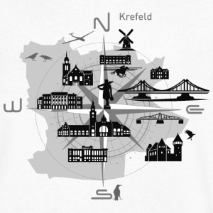 Krefeld compass, Krefeld - Men's V-Neck T-Shirt
