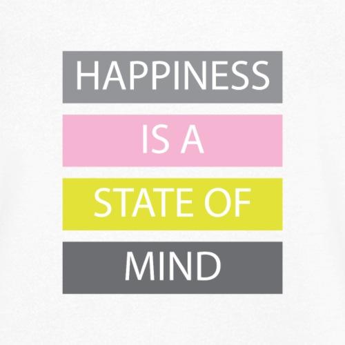Happiness - Männer Bio-T-Shirt mit V-Ausschnitt von Stanley & Stella