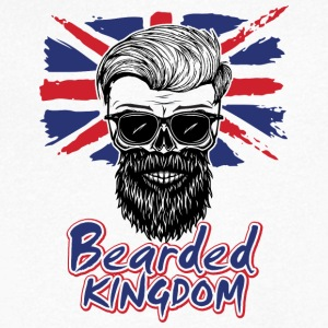 UK beard - Men's V-Neck T-Shirt