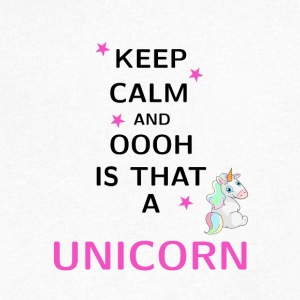 Keep Calm and ooh is that a Unicorn - Men's V-Neck T-Shirt