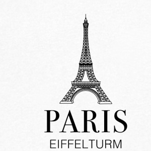 Paris Eiffel Tower - Men's V-Neck T-Shirt