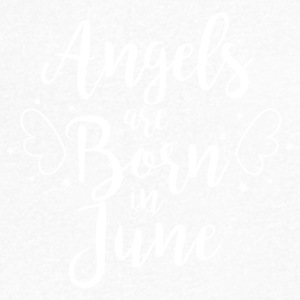 Angels are born in June - Men's V-Neck T-Shirt
