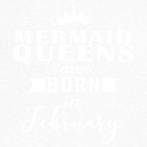 Mermaid Queens February - Men's V-Neck T-Shirt