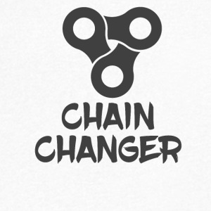 CHAIN ​​CHANGER - Men's V-Neck T-Shirt