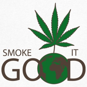 Smoke It Good - Men's V-Neck T-Shirt