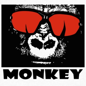 Monkey - Men's V-Neck T-Shirt