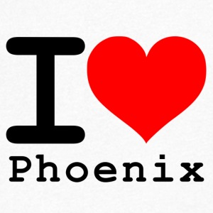 I love Phoenix - Men's V-Neck T-Shirt