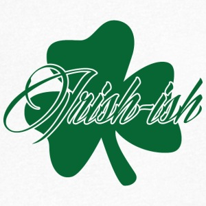 Ireland / St. Patricks Day: Irsk-ish - T-skjorte med V-utsnitt for menn