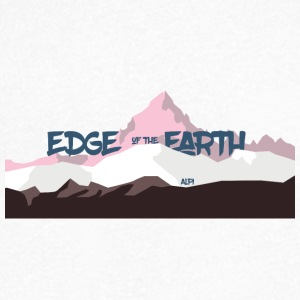 The_Edge_of_the_Earth - Camiseta de pico hombre