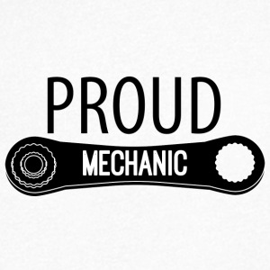 Mechanic: Proud Mechanic - Men's V-Neck T-Shirt