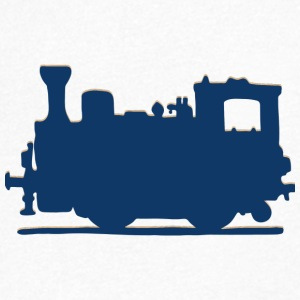 Vintage Steam Train - Men's V-Neck T-Shirt