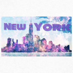 New York - Mannen T-shirt met V-hals