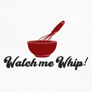 Cook / Chef: Let op me Whip! - Mannen T-shirt met V-hals