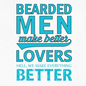 Bearded Men - Mannen T-shirt met V-hals
