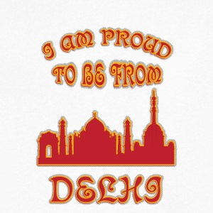 DELHI I am proud to be from - Men's V-Neck T-Shirt