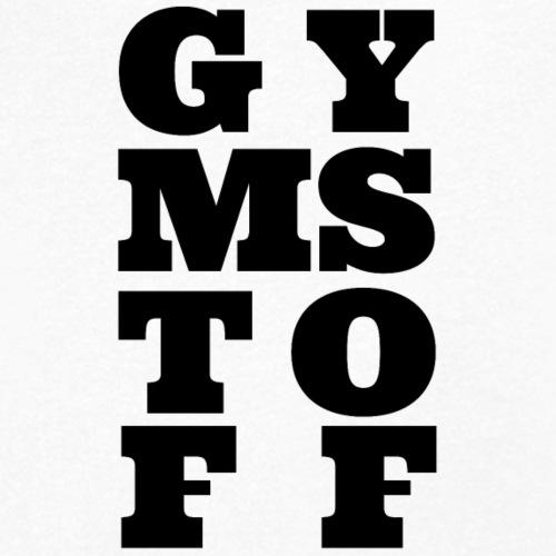 GYMSTOFF - Männer Bio-T-Shirt mit V-Ausschnitt von Stanley & Stella