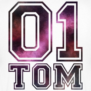nom Tom - T-shirt Homme col V