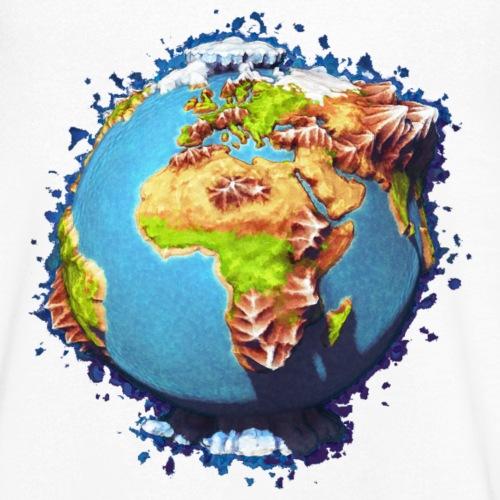 The Whole World - Männer Bio-T-Shirt mit V-Ausschnitt von Stanley & Stella