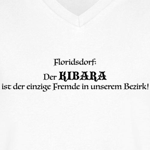 Kibara Weiss - Männer Bio-T-Shirt mit V-Ausschnitt von Stanley & Stella