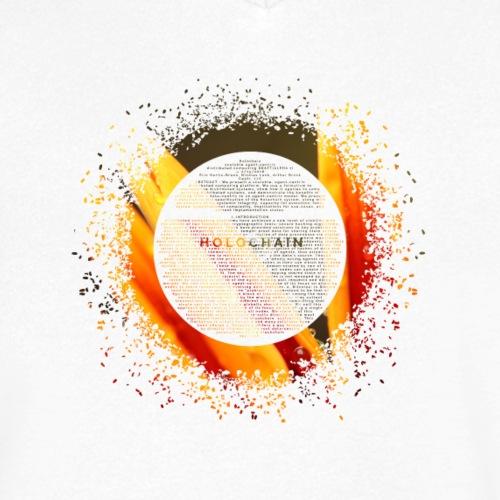 Bloom - Men's Organic V-Neck T-Shirt by Stanley & Stella