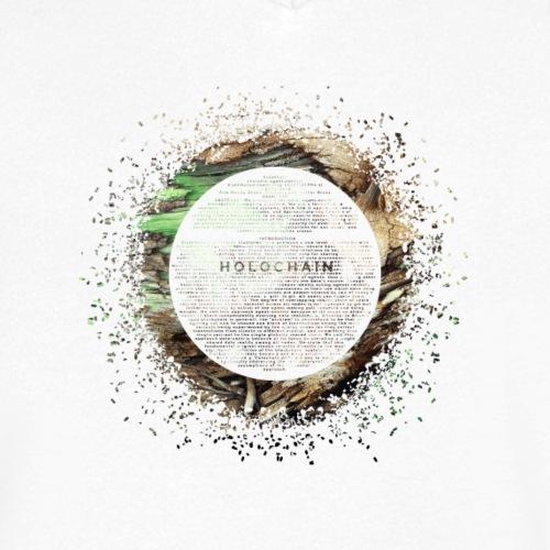 Steady flowing (Green) - Men's Organic V-Neck T-Shirt by Stanley & Stella