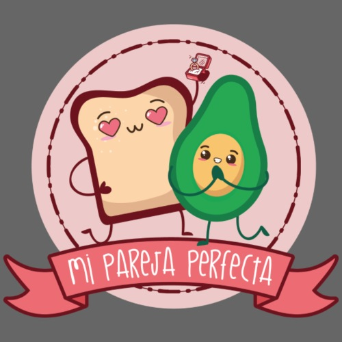 La pareja perfecta - Camiseta ecológica hombre con cuello de pico de Stanley & Stella