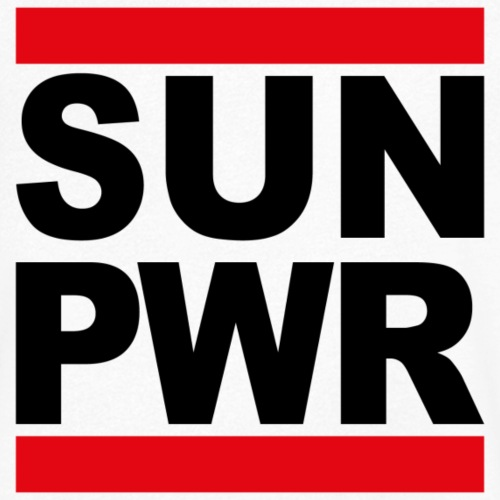 SUN PWR - Männer Bio-T-Shirt mit V-Ausschnitt von Stanley & Stella