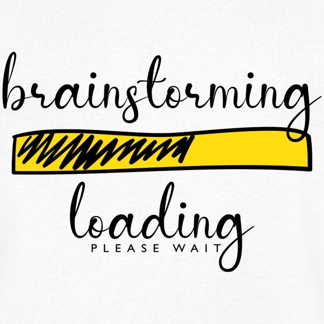 brainstorming is loading