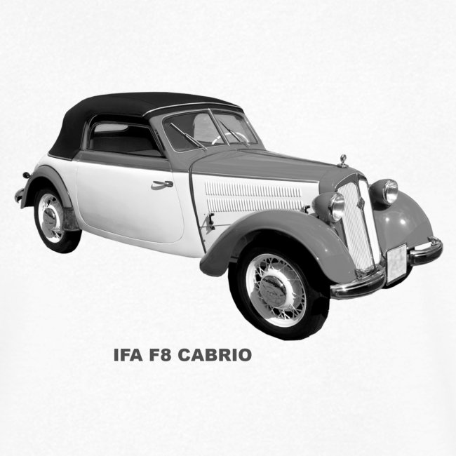 IFA F8 Cabrio DDR Zwickau