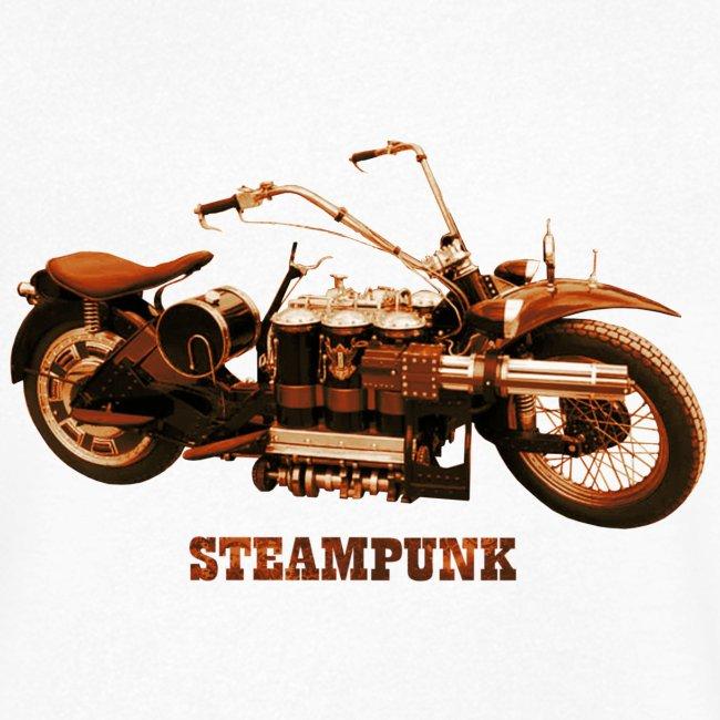 Steampunk Motorrad Bike Retro Futurismus