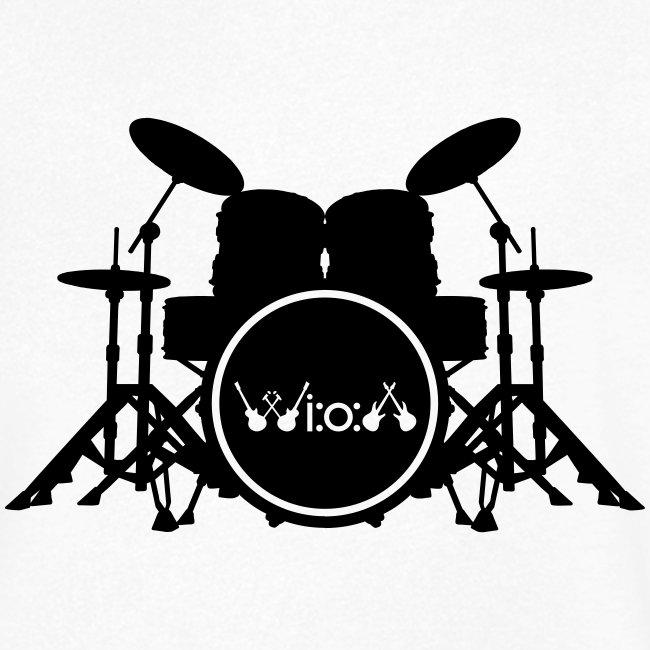 Wiedenrode Open Air Logo , Schlagzeug mit WiOA