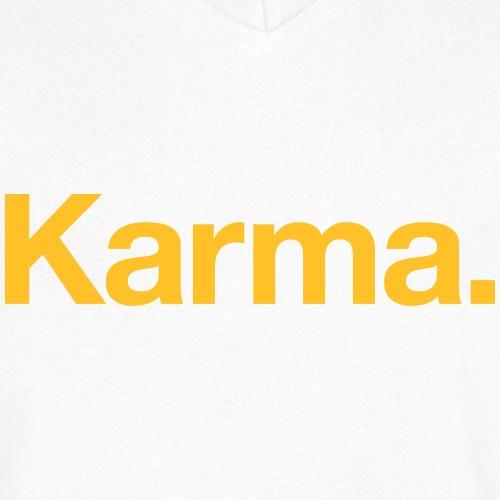 Karma - Männer Bio-T-Shirt mit V-Ausschnitt von Stanley & Stella