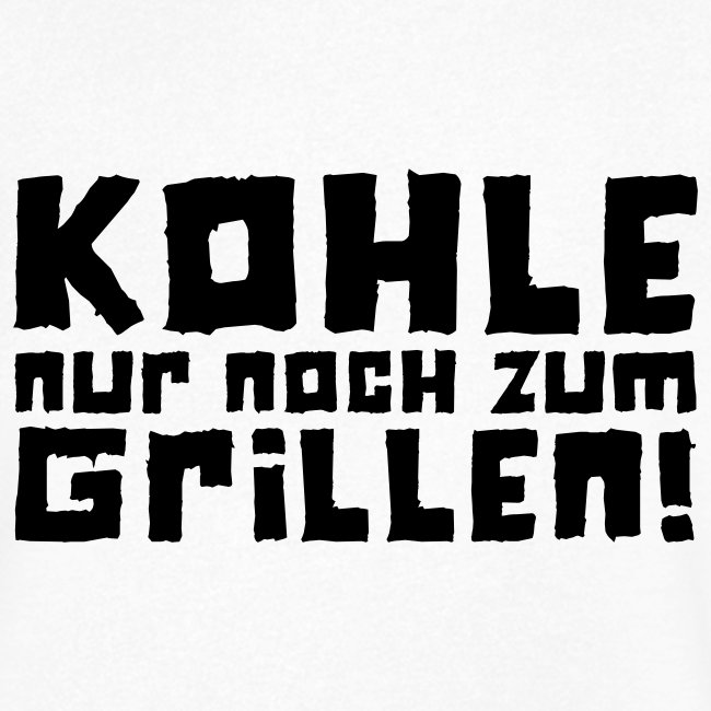 Kohle nur noch zum Grillen - Logo