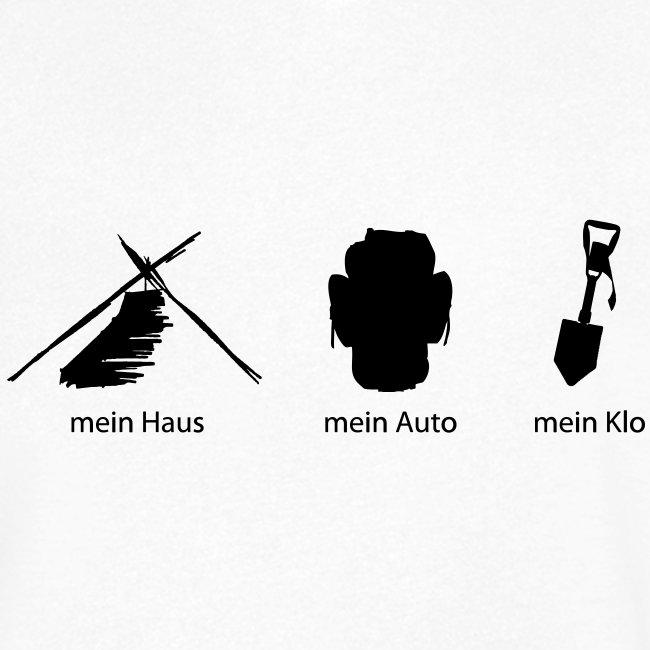 Haus Auto Klo