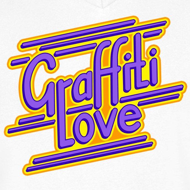 graffiti love type1 blueviolet