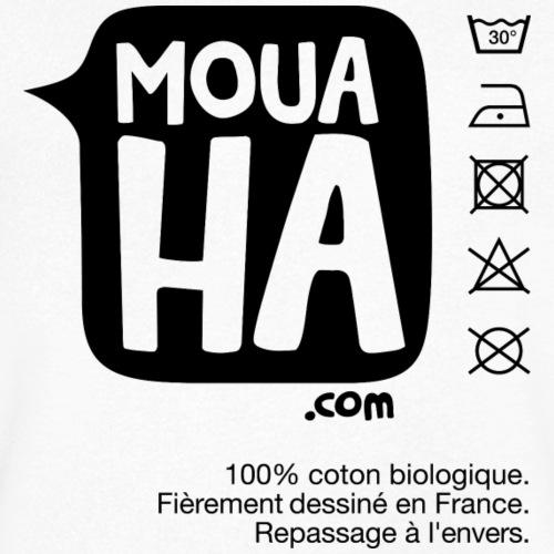 MOUAHA étiquette
