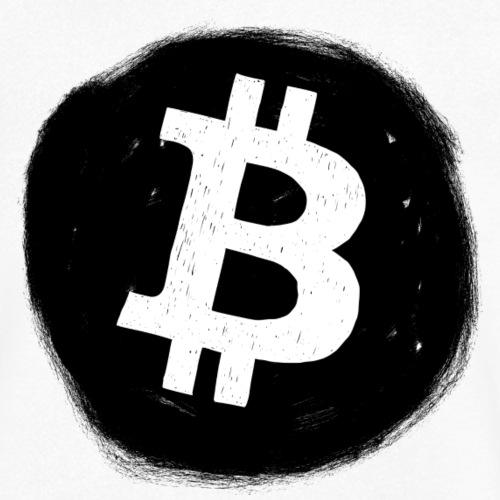 Bitcoin Logo - Männer Bio-T-Shirt mit V-Ausschnitt von Stanley & Stella