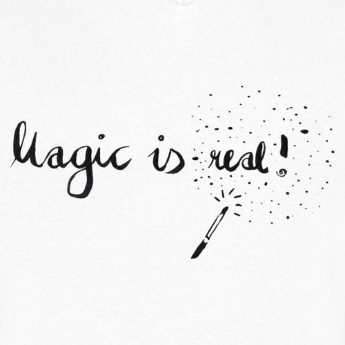 Magic is real - Männer Bio-T-Shirt mit V-Ausschnitt von Stanley & Stella