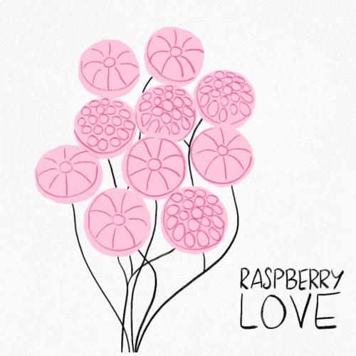 Himbeerbonbon Blumenstrauß - Männer Bio-T-Shirt mit V-Ausschnitt von Stanley & Stella