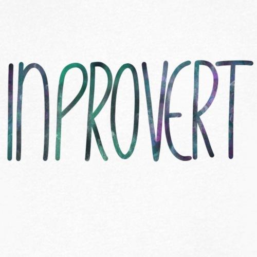 Introvert 3 - inprovert - Männer Bio-T-Shirt mit V-Ausschnitt von Stanley & Stella