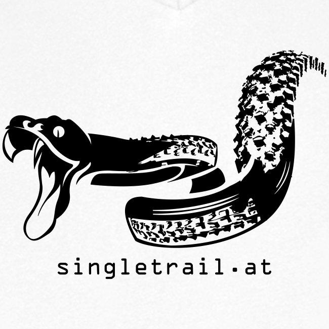 Die Singletrail Snake mit dezenter Web Adresse