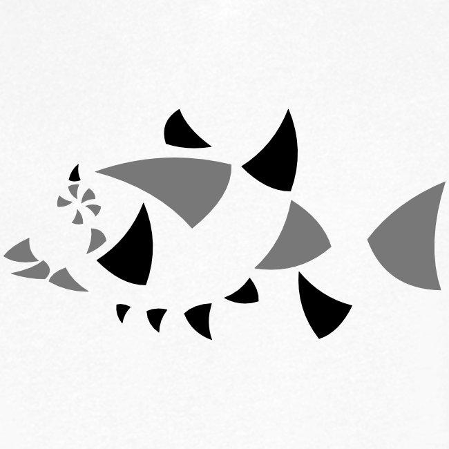 Fisch, abstrakt